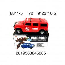 Машина-трансформер, 72 шт. в кор. 8811-5