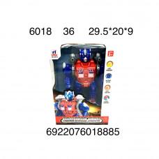 Робот (свет, звук), 36 шт. в кор. 6018