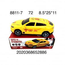 Машина Трансформер, 72 шт. в кор. 8811-7