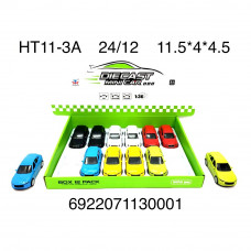 Машинки Мини 12 шт. в блоке, 288 шт. в кор. HT11-3A