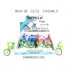 0818-1B Велосипед 12 шт. в блоке,12 блоке. в кор.