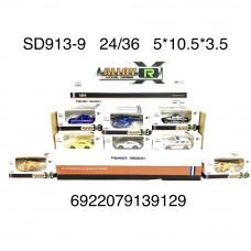 Модельки машин 36 шт. в блоке, 24 шт. в кор. SD913-9
