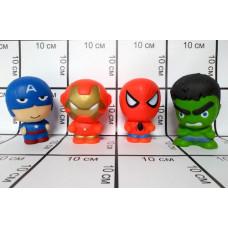 Сквиши супергерои 12 шт. в блоке