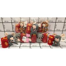 Мягкая игрушка Мышка 12 шт. в блоке, 600 шт. в кор. 1209-5