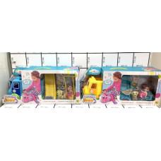 Автобус с куколками (муз.), 24 шт. в кор. 71022-22
