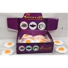 Лизун-Яйцо 40 шт в блоке 640 шт в кор.7728