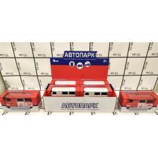 Машинки Автопарк 6 шт. в блоке, 30 шт. в кор. J1801