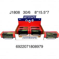 Машинки Военные Автопарк 6 шт. в блоке J1808 (180)