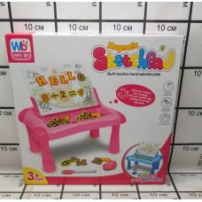 009-2040 Игровой набор (стол, доска для рисования) 30 шт в кор.