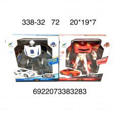 338-32 Робот Трансформер Полиция, 72 шт. в кор.