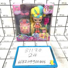 Кукла Candyslocks с косметичкой набор, 24 шт. в кор. B1170