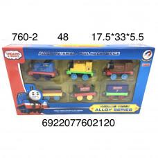 760-2 Поезд Томас набор, 48 шт. в кор.