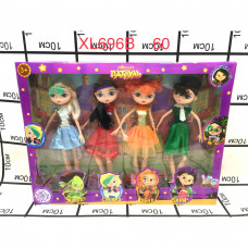 XL696B Кукла Патруль 4 героя, 60 шт. в кор.