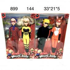 899 Чудесные супергерои набор 2 героя, 144 шт в кор.