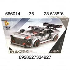 666014 Конструктор Автомобиль 363 дет., 36 шт. в кор.