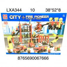 LXA344 Конструктор Пожарная станция 979 дет., 10 шт. в кор.