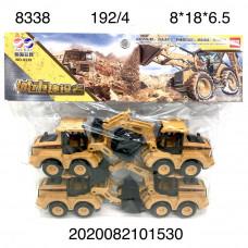 8338 Трактор 4 шт. в уп.,48 уп. в кор.
