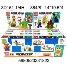 3D161-1/4H Конструктор Супер Марио 8 шт. в блоке 30 блоке. в кор.