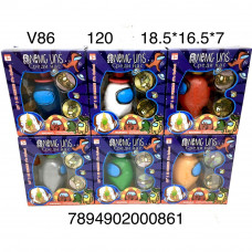 V86 Фигурки НЛО, 120 шт. в кор.
