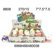 8808 Сквиши Кексы 15 шт. в блоке,18 блоке. в кор.