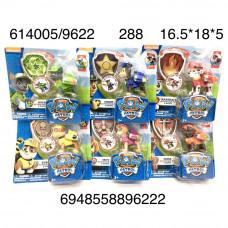 614005/9622 Собачки 6 видов  в коробке, 288 шт. в кор.
