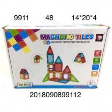 9911 Магнитный конструктор 22 дет., 48 шт. в кор.