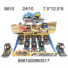 8810 Набор Машинок 10 шт в блоке, 24 шт в кор.