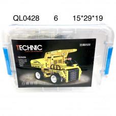 QL0428 Конструктор Техник 375 дет., 6 шт. в кор.