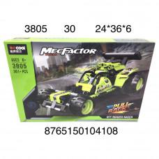 3850 Конструктор Автомобиль 301 дет. 30 шт в кор.