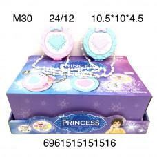 M30 Косметика Принцесса в шкатулке 12 шт в блоке, 288 шт в кор.