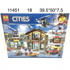 11451 Конструктор Город 868 дет., 18 шт. в кор.