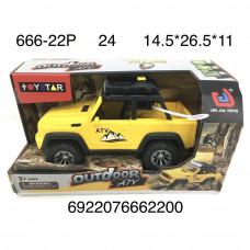 666-22P Машина на батарейках (свет, звук), 24 шт. в кор.