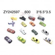 ZY242597 Модельки машин, 600 шт. в кор.