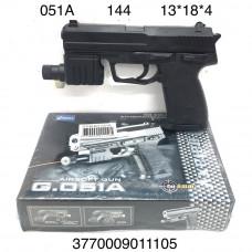 051A Пистолет с пульками, 144 шт. в кор.