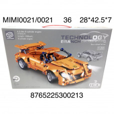 MIMI0021/0021 Конструктор Автомобиль 589 дет., 36 шт. в кор.
