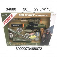 34680 Игровой набор Военного 18 шт в кор.