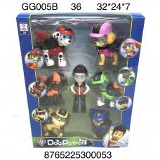 GG005B Собачки 7 героев набор, 36 шт. в кор.