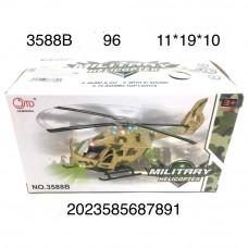3588B Вертолет на батарейках свет звук 96 шт в кор.