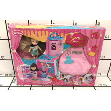 Набор для девочки Бутик в сумочке, 24 шт. в кор. QL052-2