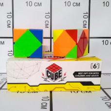 Кубик рубика, 3x3, 6 шт. в блоке