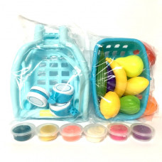 Тележка с фруктами 12 шт в кор. WY371-1