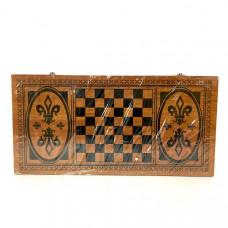 Набор 3 в 1 (нарды, шахматы, шашки), 24 шт. в кор. X4824