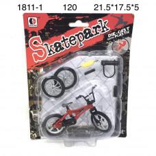 1811-1 Велосипед для пальцев 120 шт в кор.