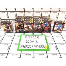 Конструктор Паук 16 шт. в блоке, 720 шт в кор. 64038