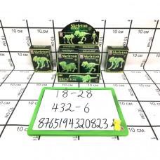 Скелетон фосфорный 6 шт. в блоке 432 шт в кор. 18-28