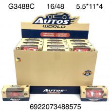 G3488C Модельки 48 шт. в блоке, 16 шт. в кор.