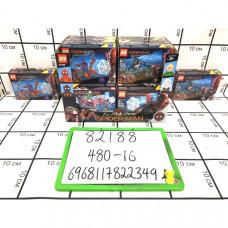 Конструктор Супергерои 16 шт. в блоке, 480 шт в кор. 82188