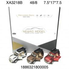XA3218B Модельки Мерседес-бенз (метал) 8 шт. в блоке, 48 шт. в кор.