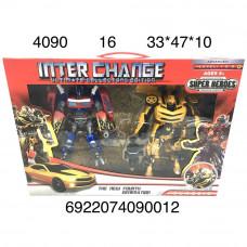 4090 Робот Трансформер 2 шт. в наборе, 16 шт. в кор.