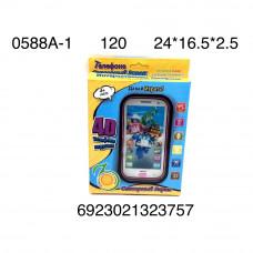 0588A-1 Телефон интерактивный Мультяшки, 120 шт. в кор.